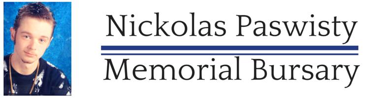 Nickolas PaswistyMemorial Bursary (Web)