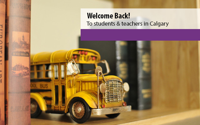 Welcome back teachers and students